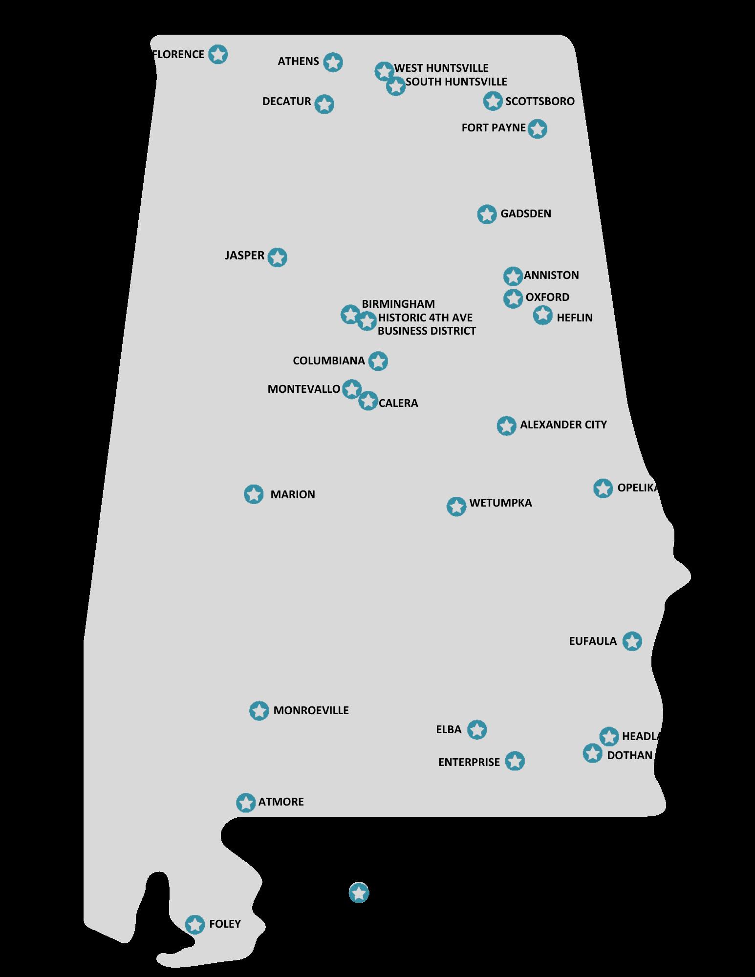 Designated map